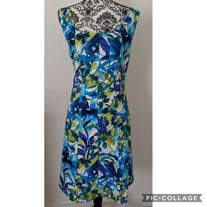 Dress Barn Sheath Tropical Dress 16